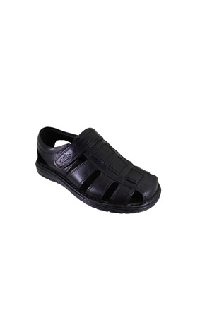 Punto 342214-01 Erkek Günlük Deri Sandalet
