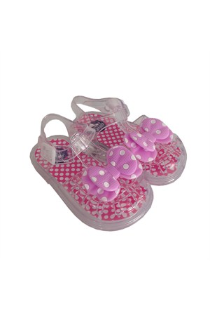 Novelido Fiyonklu Kız Çocuk Aqua Sandalet 4001124