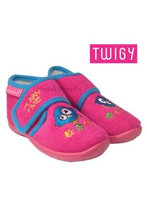 Hello Kitty Çocuk Ev Ayakkabısı, Kız Çocuk Ev Terliği, Pembe