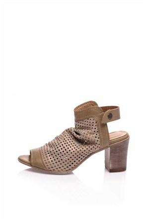 Bueno Vizon Simli Topuklu Şık Ayakkabı