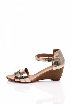 Bueno Altın Günlük Şık Ayakkabı