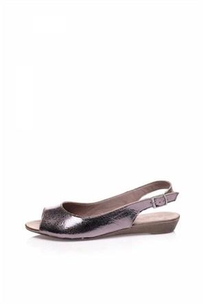 Bueno Bronz Rahat Günlük Sandalet