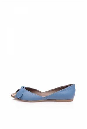 Bueno Mavi Günlük Ofis Ayakkabısı