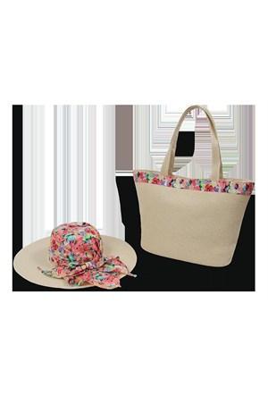 Bay Şapkacı Şapka Çanta Takım