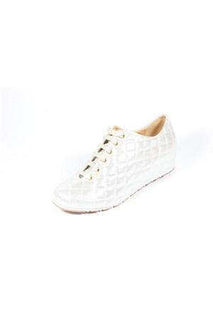 Capriss 702 Gümüş Kadın Ayakkabı