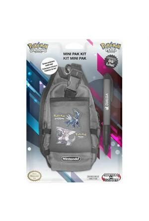Nintendo Pokemon Diamant Edition Mini Pak Kit Çanta Gri New 3Ds & 3Ds