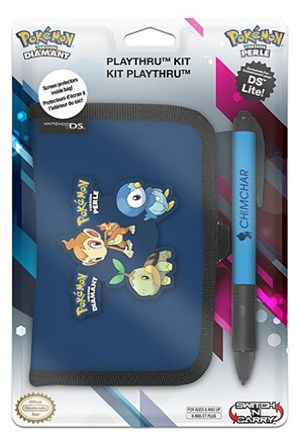 Nintendo Pokemon Kılıf Cüzdan Pocket Kit Ds Lite Lacivert