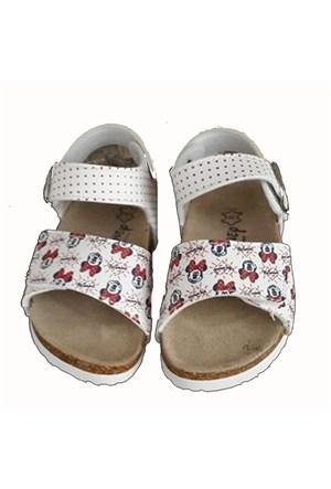 Çimpa Minnie Mouse Mantar Taban Ayakkabı