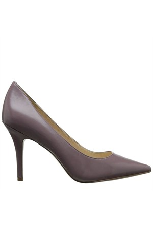 Nine West 16Ynwjackpot Lila Gerçek Deri Sivri Burunlu Ayakkabı