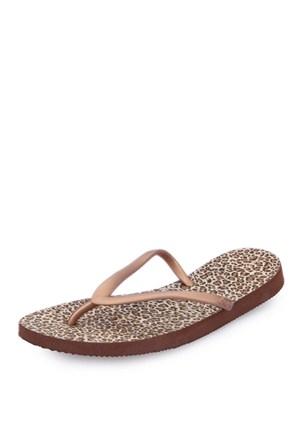 Dupe Bej Plastik Düz Ayakkabı - Kadın