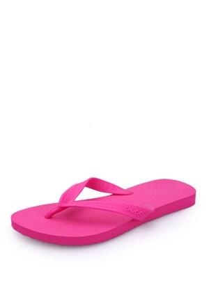 Dupe Pembe Plastik Düz Ayakkabı - Kadın