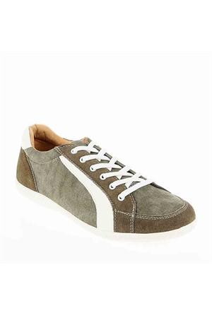 Best Club Erkek Günlük Ayakkabı 33106 Oliv-Beyaz