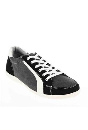 Best Club Erkek Günlük Ayakkabı 33106 Siyah-Beyaz