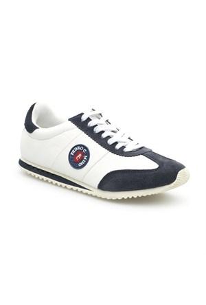 Pedro Camino Sport Erkek Günlük Ayakkabı 114308 Beyaz-Lacivert