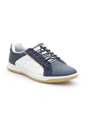 Pedro Camino Sport Erkek Günlük Ayakkabı 114309 Beyaz-Lacivert