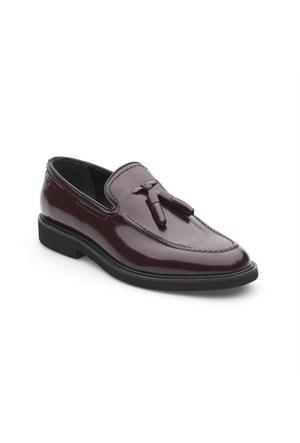 Pedro Camino Erkek Klasik Ayakkabı 72923 Bordo Açma