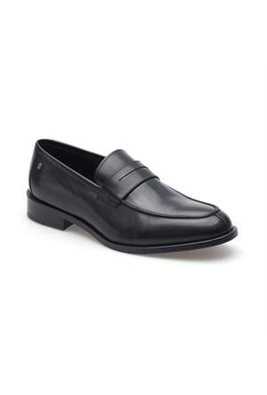Pedro Camino Erkek Klasik Ayakkabı 73094 Siyah Bufalo