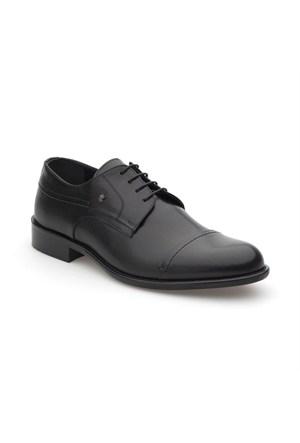 Pedro Camino Erkek Klasik Ayakkabı 74518 Siyah Bufalo