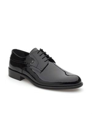 Pedro Camino Erkek Klasik Ayakkabı 74519 Siyah Rugan