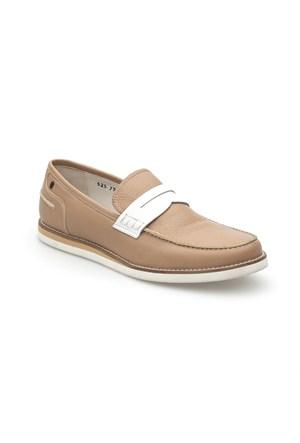 Pedro Camino Weekend Erkek Klasik Ayakkabı 773351 Taba-Beyaz