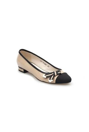Pedro Camino Kadın Günlük Ayakkabı 81250 Siyah-Bej