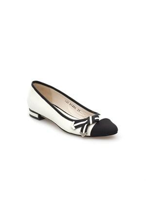 Pedro Camino Kadın Günlük Ayakkabı 81250 Siyah-Beyaz