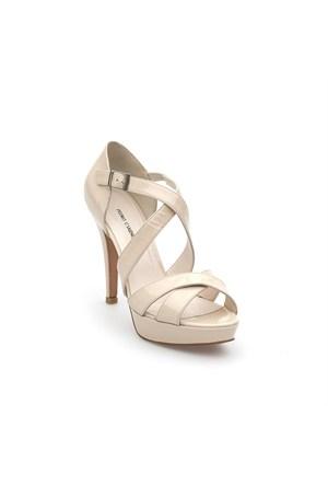 Pedro Camino Kadın Klasik Ayakkabı 82128 Bej Rugan
