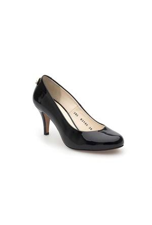 Pedro Camino Kadın Klasik Ayakkabı 83180 Siyah Rugan