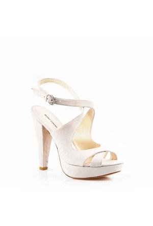 Pedro Camino Kadın Klasik Ayakkabı 80121 Bej