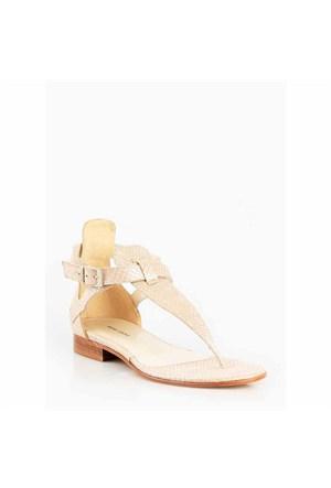 Pedro Camino Kadın Günlük Sandalet 80156 Bej