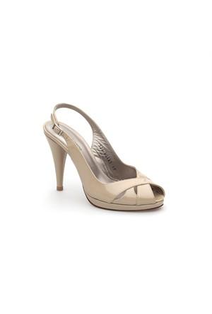 Pedro Camino Kadın Klasik Ayakkabı 80161 Bej