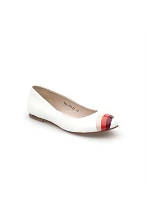 Pedro Camino Kadın Günlük Ayakkabı 80172 Beyaz