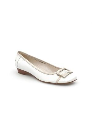 Pedro Camino Kadın Günlük Ayakkabı 81136 Beyaz