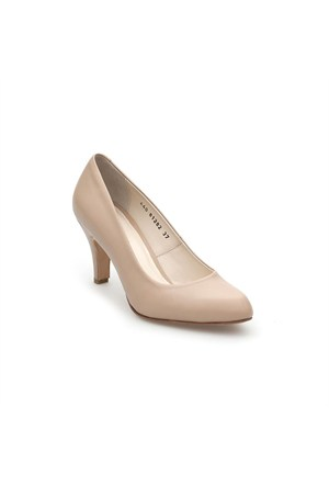 Pedro Camino Kadın Klasik Ayakkabı 81282 Bej
