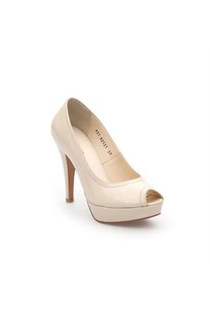 Pedro Camino Kadın Klasik Ayakkabı 82121 Bej