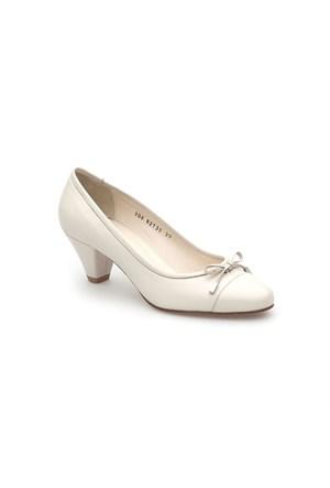 Pedro Camino Kadın Klasik Ayakkabı 82139 Krem