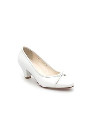 Pedro Camino Kadın Klasik Ayakkabı 82139 Beyaz