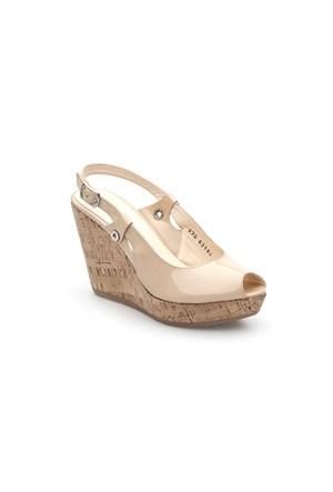 Pedro Camino Kadın Günlük Ayakkabı 82184 Bej