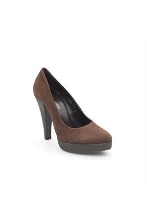 Pedro Camino Kadın Klasik Ayakkabı 82680 Kahve