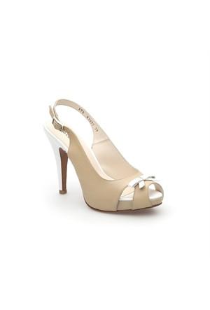 Pedro Camino Kadın Klasik Ayakkabı 83077 Bej