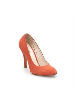 Pedro Camino Kadın Klasik Ayakkabı 83125 Oranj