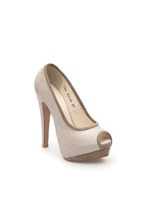 Pedro Camino Kadın Klasik Ayakkabı 83136 Bej