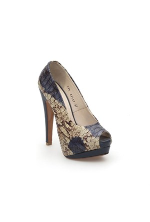 Pedro Camino Kadın Klasik Ayakkabı 83137 Bej