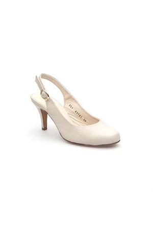 Pedro Camino Kadın Klasik Ayakkabı 83181 Bej