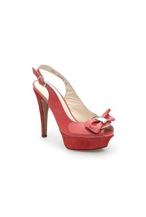 Pedro Camino Kadın Klasik Ayakkabı 83193 Kırmızı