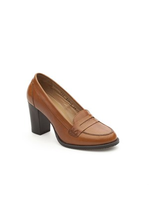 Pedro Camino Kadın Klasik Ayakkabı 83605 Taba