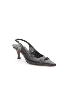 Pedro Camino Kadın Klasik Ayakkabı 89106 Siyah