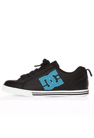 Dc Conquer Womens Shoe Black Blue Ayakkabı