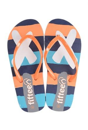 Parmak Arası Unisex Plaj Terliği FG01 Turuncu