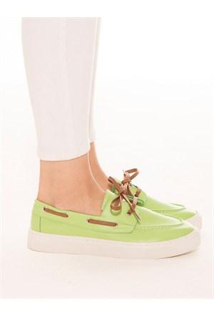 Mecrea Exclusive Atalente Yeşil Ayakkabı